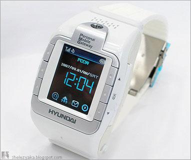 W-100. Часы-телефон от Hyundai