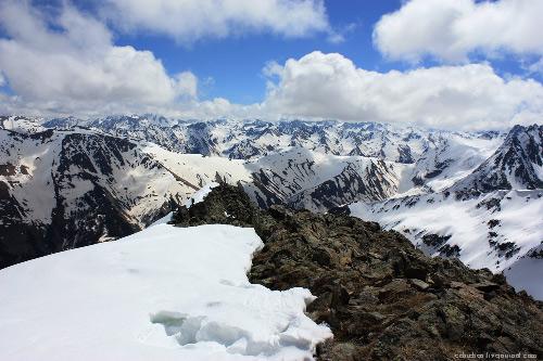 Гора Димитров 100 в архызе