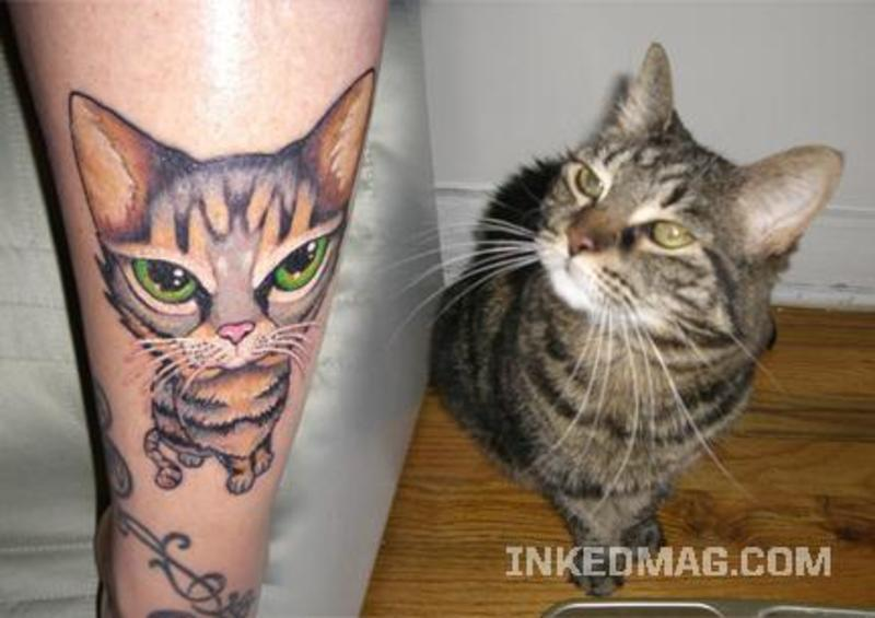 for Cat asshole tattoo