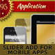 Christmas Slider Ads for Mobile Applications