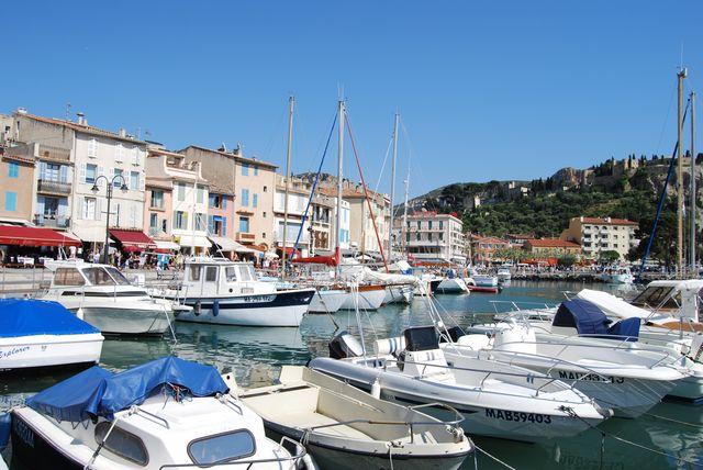 Будучи в Провансе: город Cassis