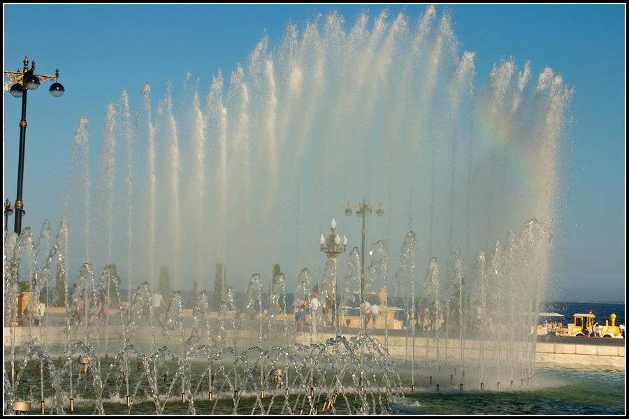 Баку город фонтанов