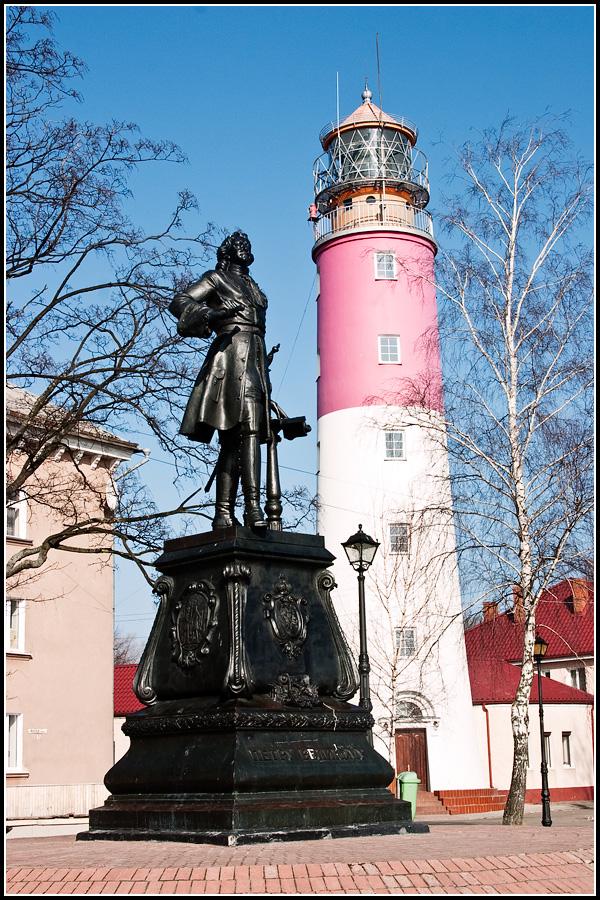 Памятник Петру в Балтийске