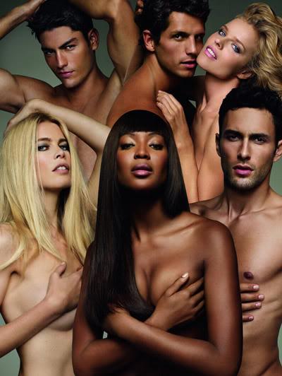Духи модели голые