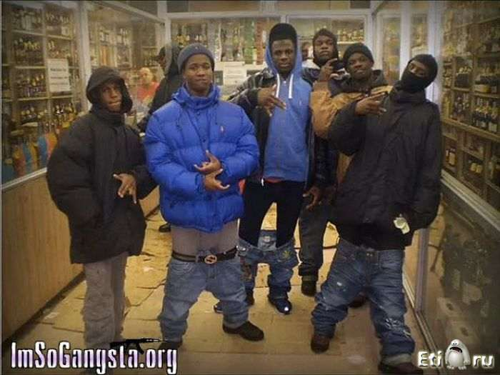 гангстеры фото негры