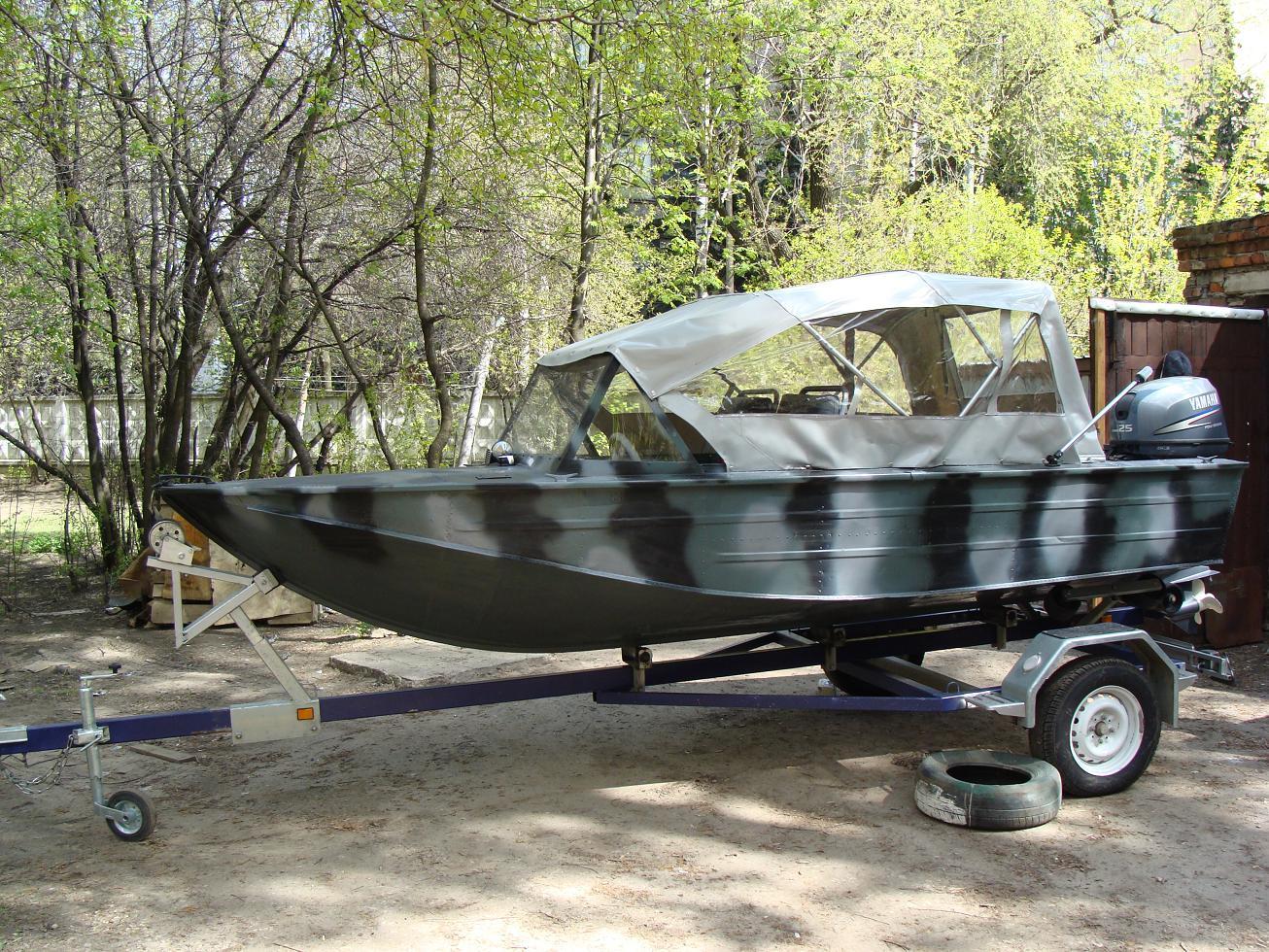 выбрать дюралевую лодку
