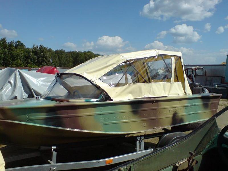 размеры тента на лодку днепр