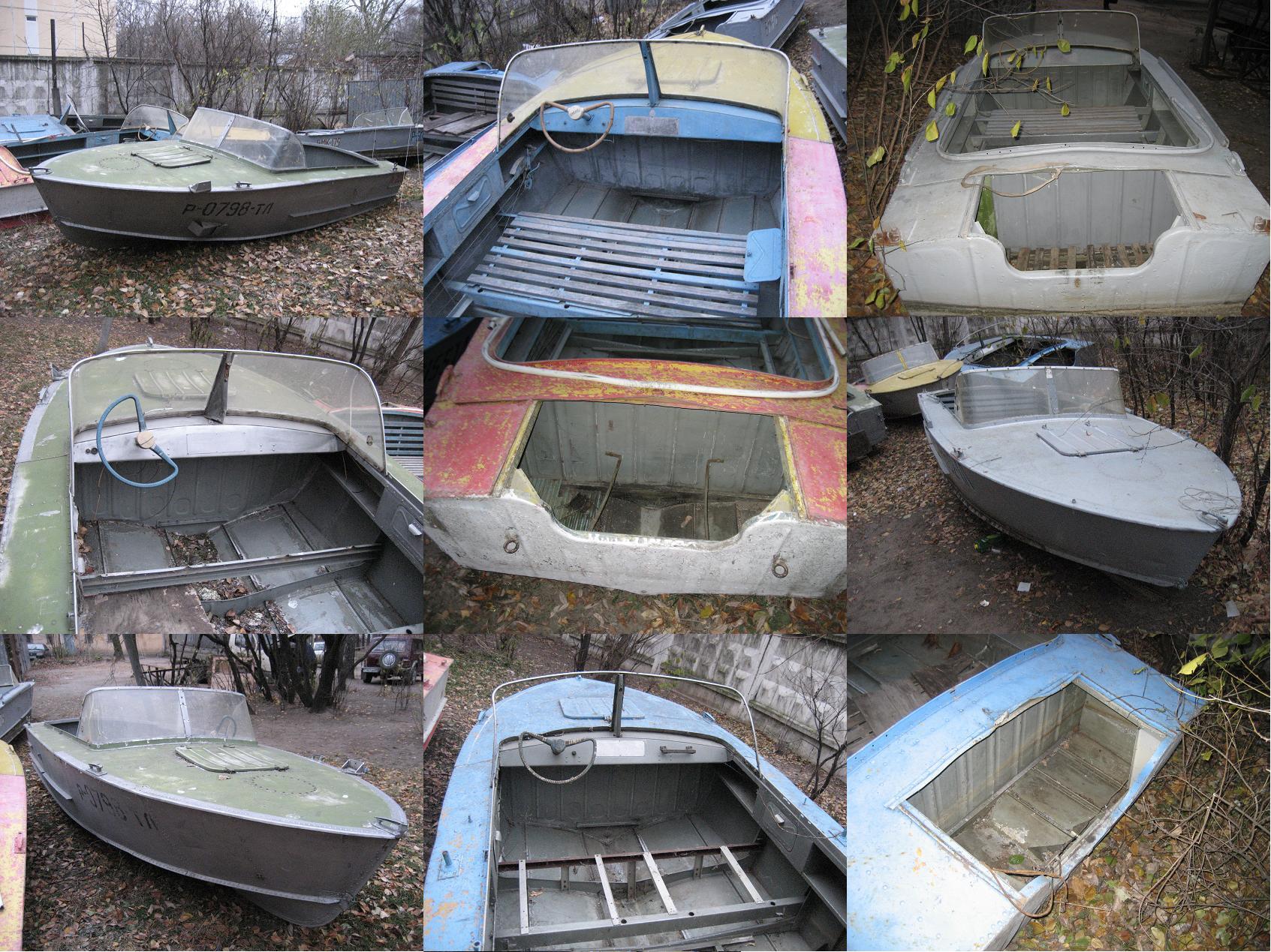 реставрация старой лодки