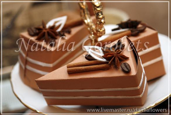В каждом кусочке торта сюрприз, придумайте какой.