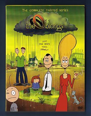 Облонги / The Oblongs / Сезон I-II [2001 г., Мультсериал,Комедия, DVDRip]