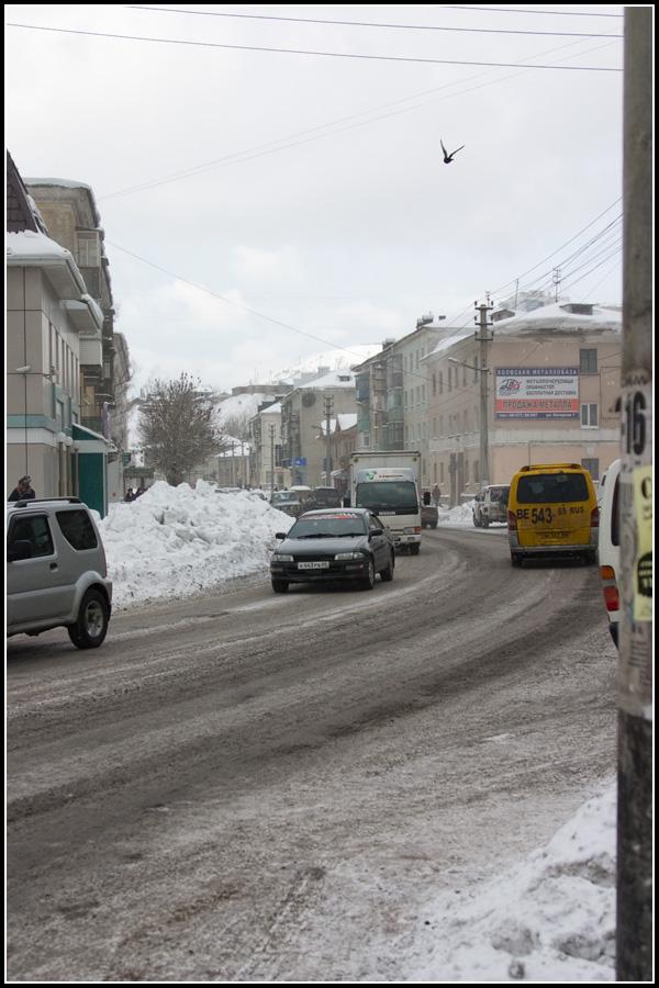 Центральная улица Холмска