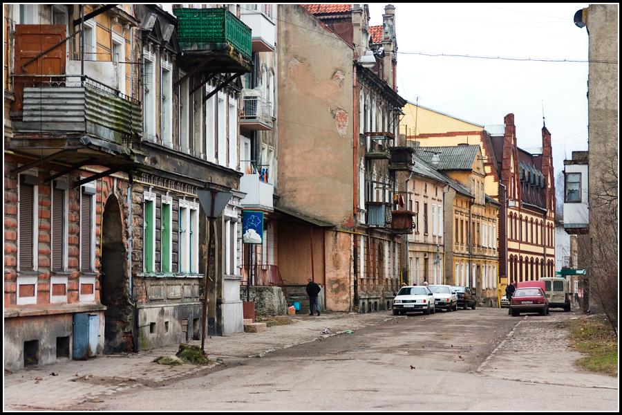 Улица в Черняховске