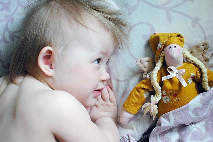 Сплюшка для маленькой подружки