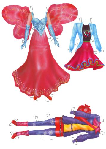 Сайт бумажных кукол