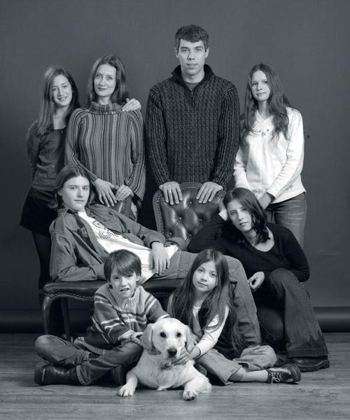 илья сегалович и его семья фото