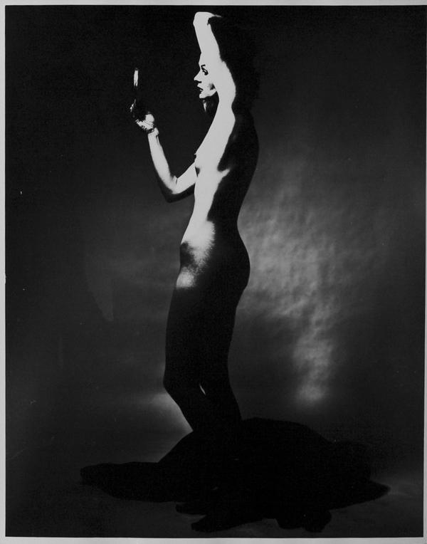 Nude Outline New-York Erwin Blumenfeld.1963
