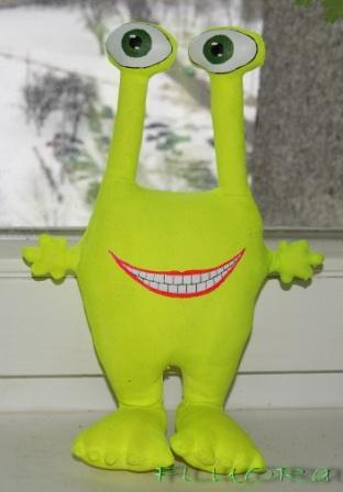 Как сделать игрушки инопланетянина своими руками