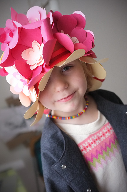 Фото детская шляпа своими руками из