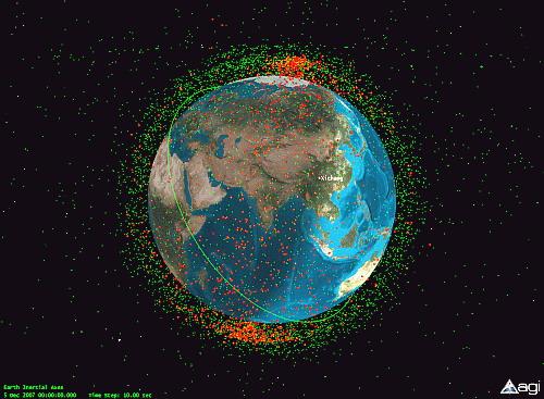 Зелёные точки - околоземные спутники ...: forum.neplaneta.ru/viewtopic.php?f=7&t=888