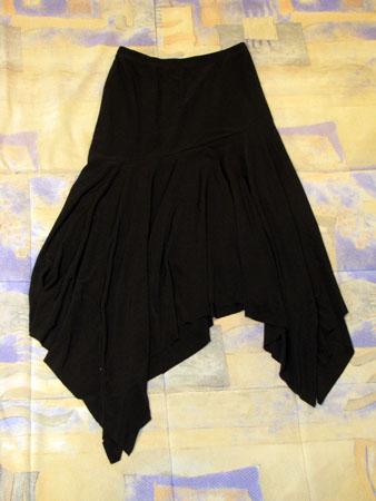 Как кроить бюстгалтер сшить юбку из