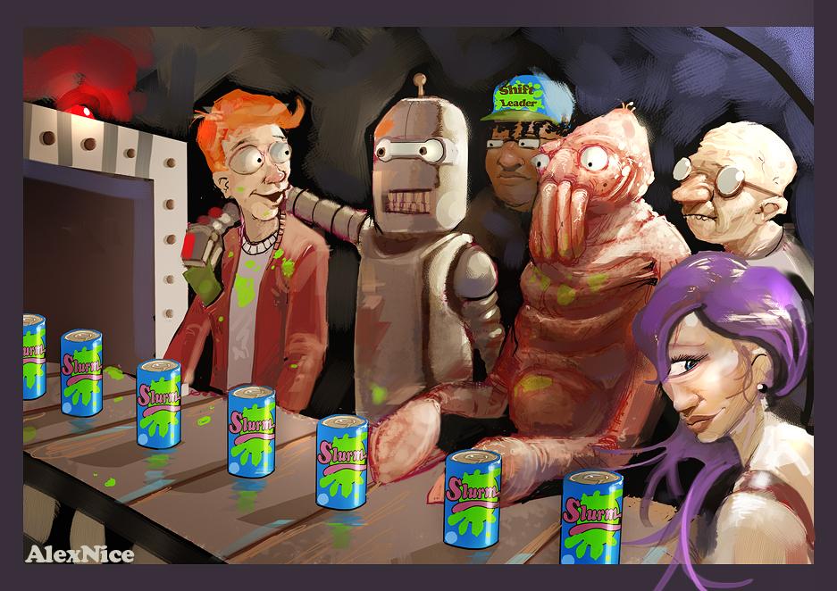 Futurama Robot