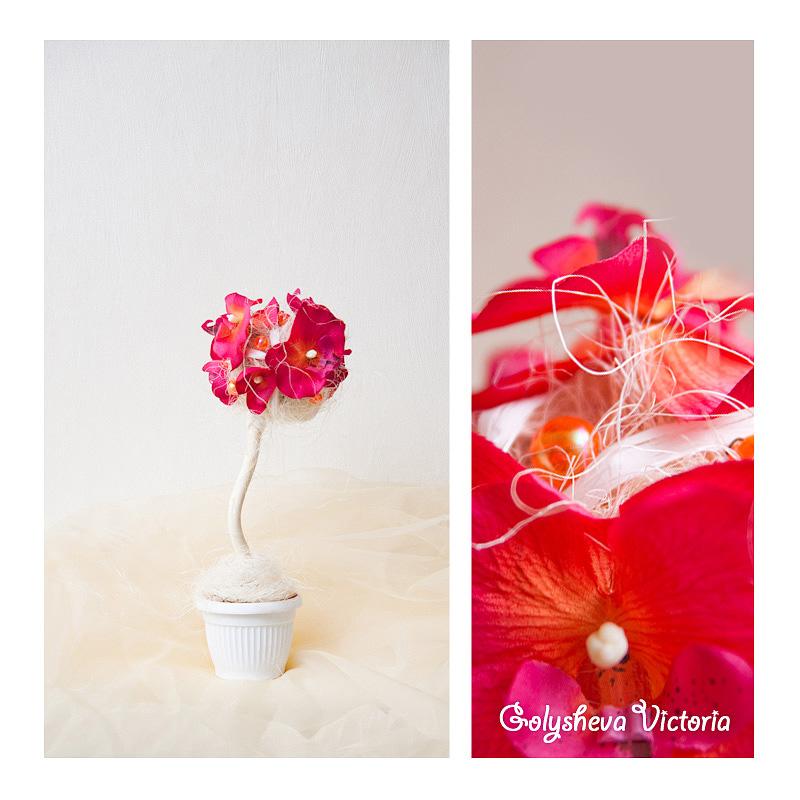 Искусственные цветы флористические