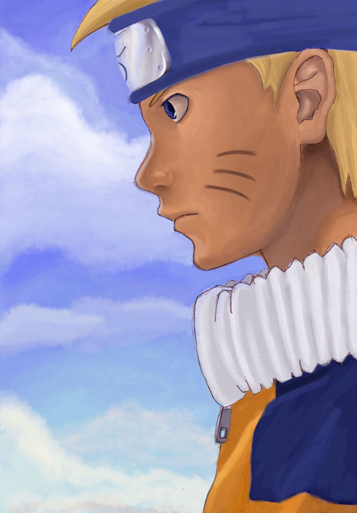 как рисовать аниме лицо,