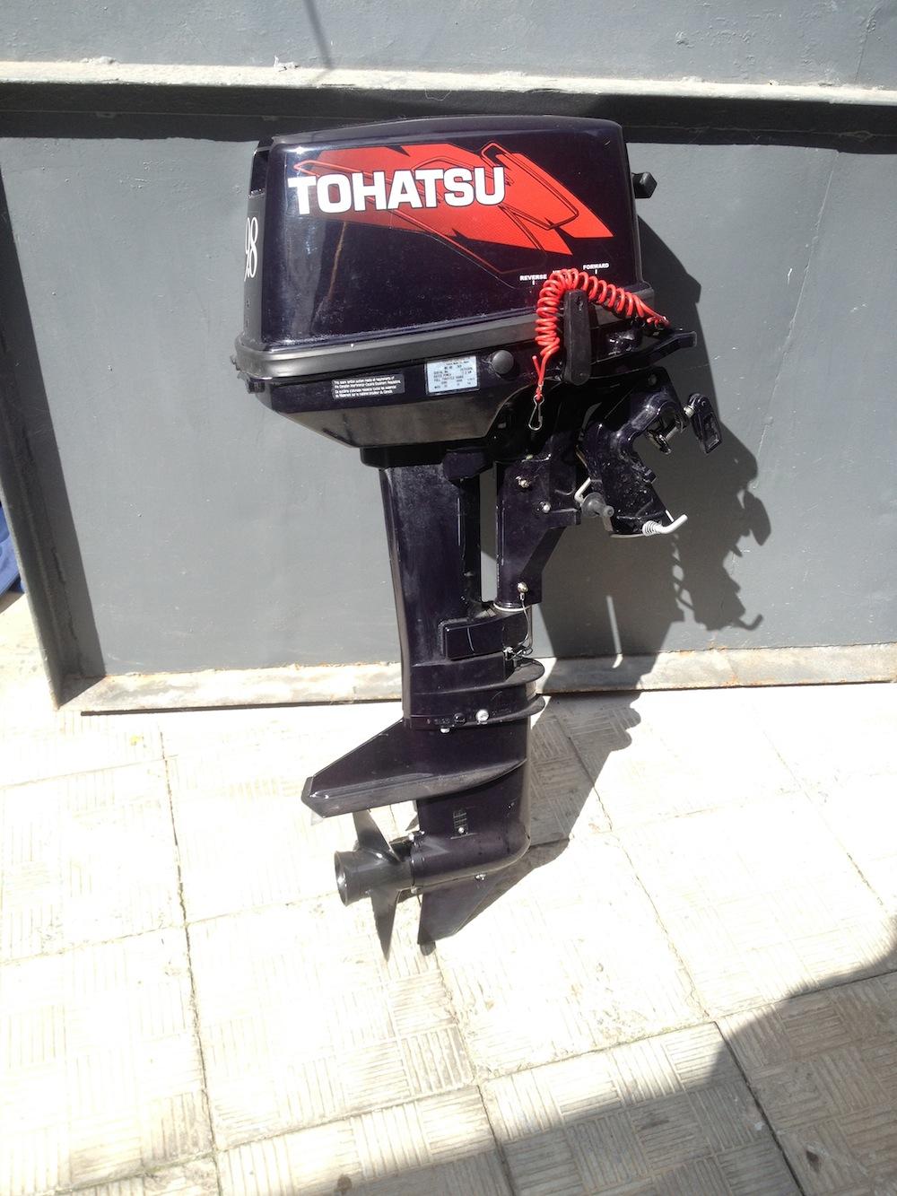 мотор tohatsu m 9.8 s в москве