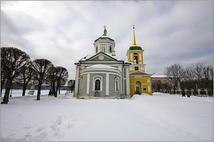 Усадьба Кусково. Церковь