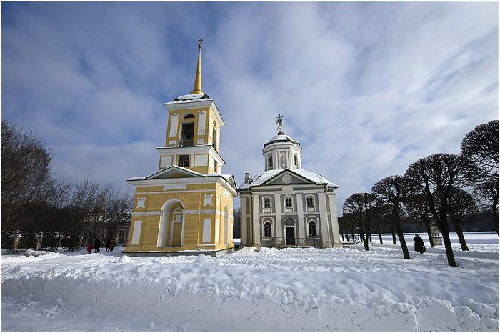 Усадьба Кусково. Церковь. Колокольня