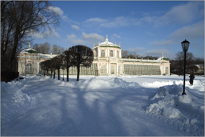 Усадьба Кусково. Большая каменная оранжерея