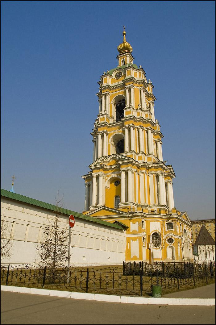 Новоспасский монастырь. Колокольня