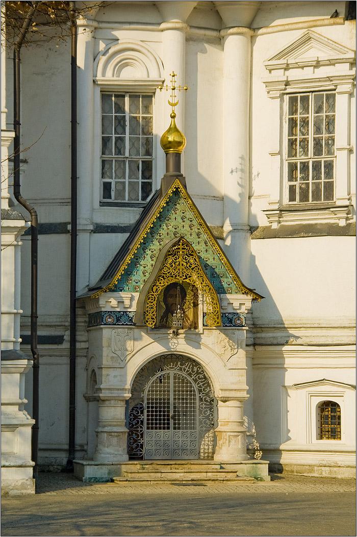 Новоспасский монастырь. Усыпальница Романовых