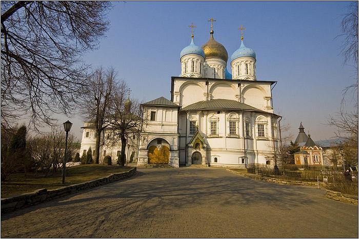Новоспасский монастырь. Преображенский собор