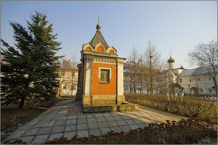 Новоспасский монастырь. Часовня