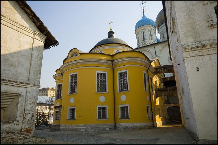 Новоспасский монастырь. Знаменский храм