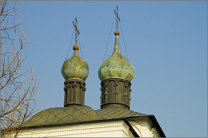 Новоспасский монастырь. Храм Покрова Пресвятой Богородицы