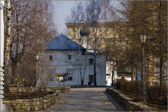 Новоспасский монастырь. Церковь Николая Чудотворца