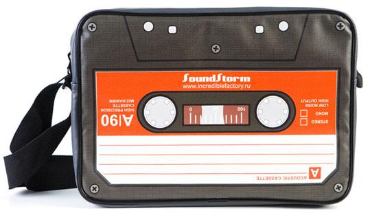 Сумка SoundStorm, создана на наших детских воспоминаниях.