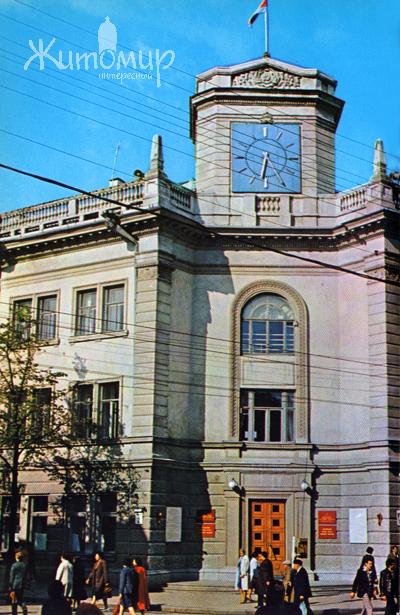 Житомир. Здание горсовета