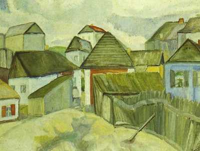 Окраина Житомира. 1914 год