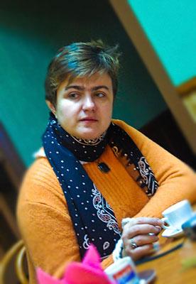 Светлана Андреевна за чашечкой кофе