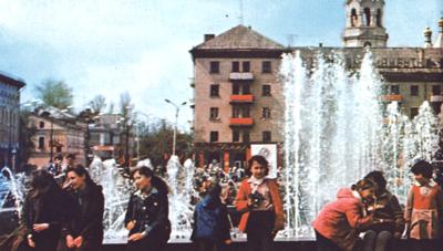 Житомир. Площадь Ленина