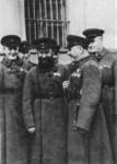 М. Н. Тухачевский, Я. Б. Гамарник, К. Е. Ворошилов и А. И. Егоров (слева направо)