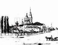 Житомир. Пожарная часть на Илларионовской улице. Начало XX века