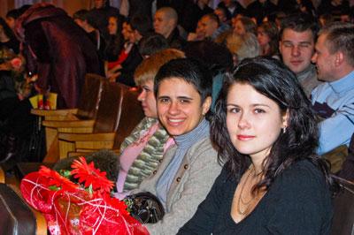 Лина Купреянчук, Ира Дьяченко - как 10 лет назад