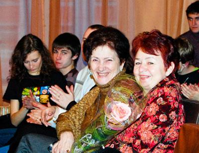 Блистательные - Зинаида Даниловна, Валентина Михайловна