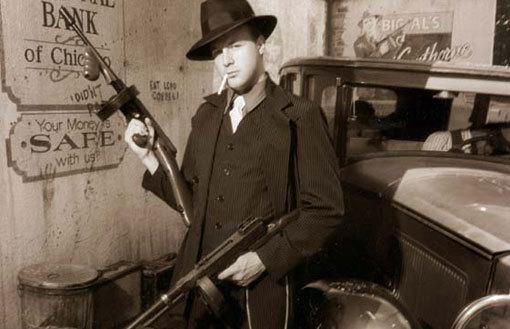 ...особый dress code в духе гангстерского Чикаго 30-годов