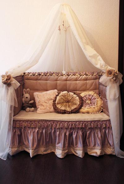 Как сделать из кроватки диванчик