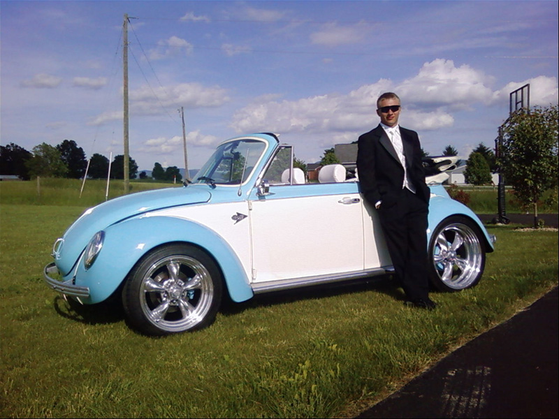 Vert 1974 Volkswagen Super Beetle Super Beetle